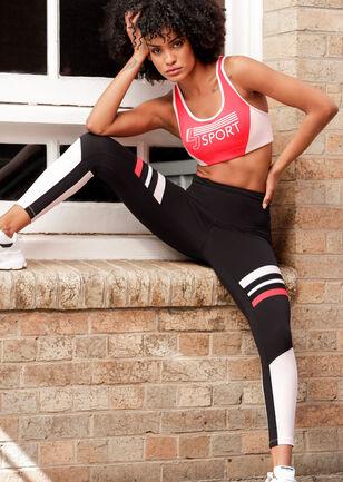 High Contrast Core Ankle Biter Leggings