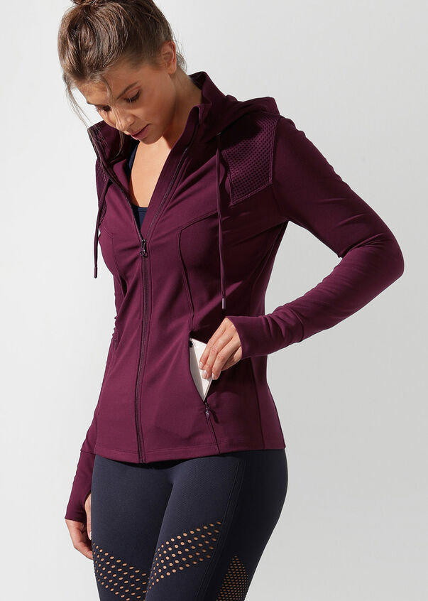 Cool Down Excel Jacket, Pinot, hi-res