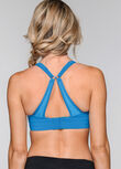 High Intensity Sports Bra, Capri Blue, hi-res