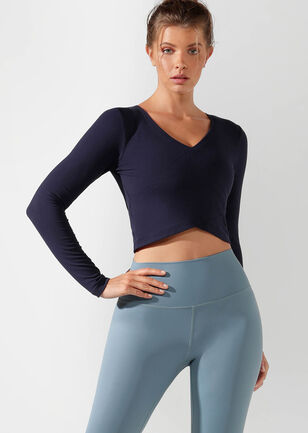 Wonder Cropped Active Top