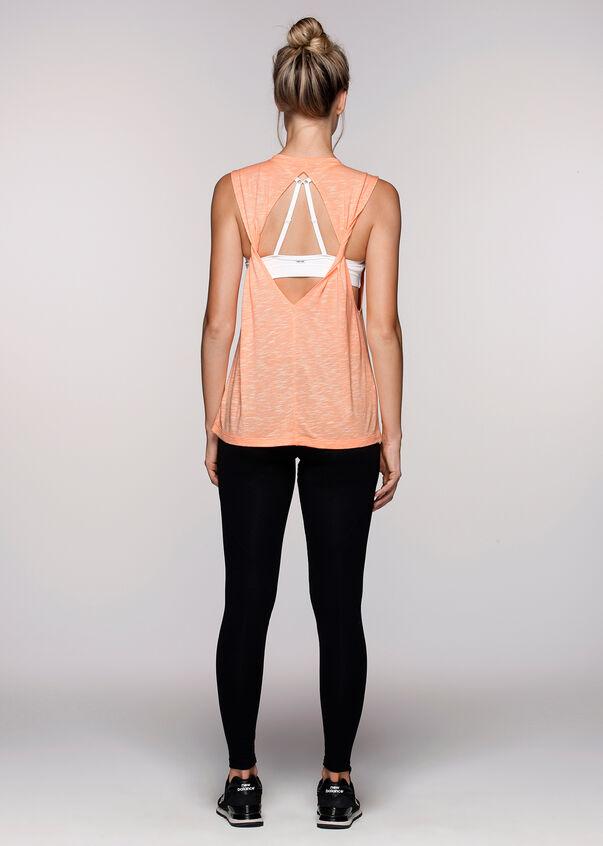Yoga Is The New BlackTank, Hot Apricot Marl, hi-res