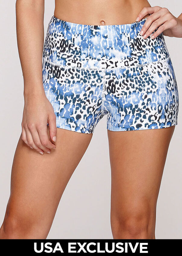 Animal Instinct Short Tight, Leopard, hi-res