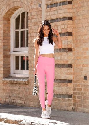 Inspire Mesh Full Length Leggings