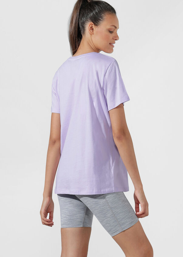 Iconic Tee, Pale Violet, hi-res