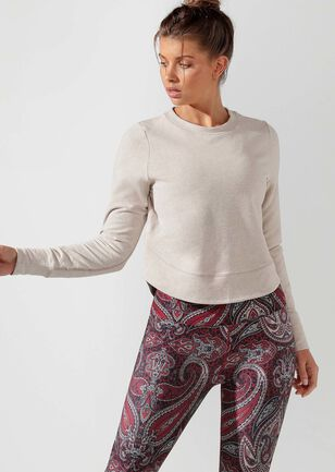 Throwover Active Long Sleeve Top
