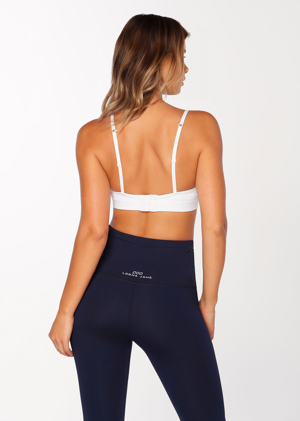 Sammy Sports Bra, White, hi-res
