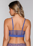 Pumped Up Sports Bra, Yves Blue Marl, hi-res