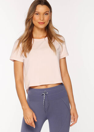Breeze Cropped Active Tee