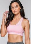 Luster Sports Bra, Baby Pink, hi-res