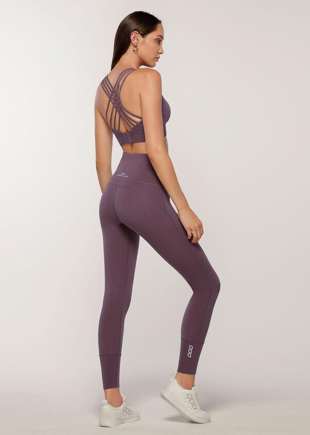 Sculpted Sports Bra, Soft Violet, hi-res