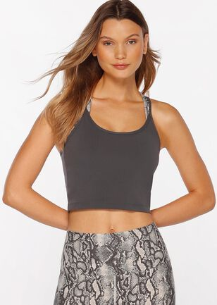 Divine Cropped Excel Tank