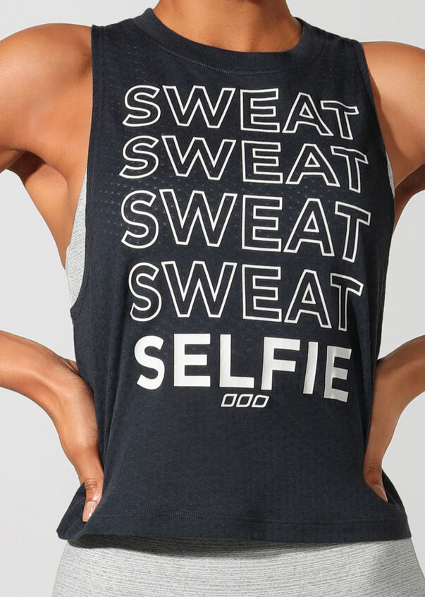 Sweat + Selfie Tank, Canyon, hi-res