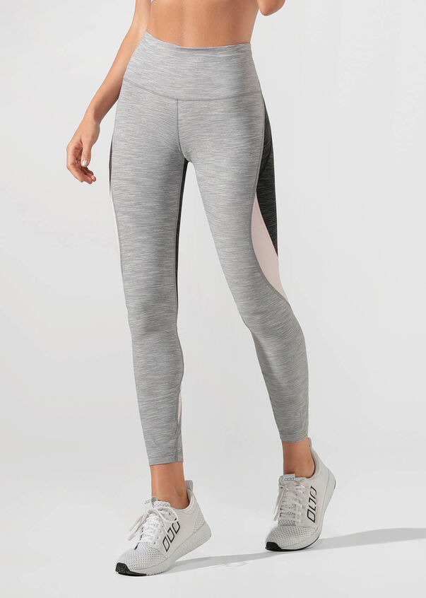 Power Moves Core Full Length Tight, Grey Marl Multi, hi-res