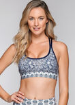 Lotus Sports Bra, Lotus Print, hi-res