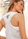 Track Lifestyle Tank, Light Grey Marl, hi-res