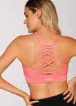 Refresh Sports Bra, Pink Grapefruit Marl, hi-res