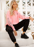 Neon Nights Long Sleeve Top, Neon Pink, hi-res