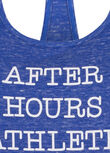 After Hours Athlete Tank, Yves Blue Marl, hi-res