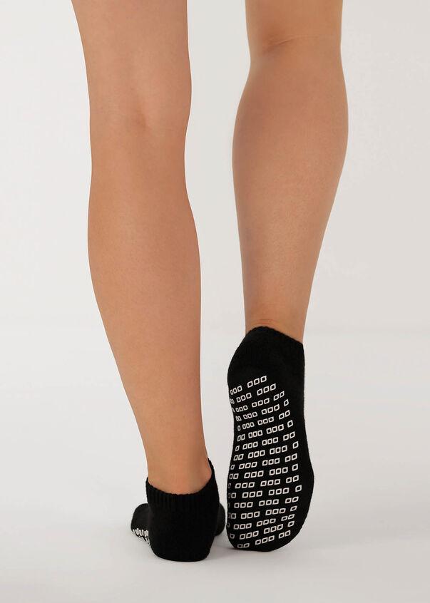 Lorna Jane Pilates Sock, Black, hi-res